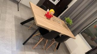 Tu Gow Mesa de comedor roble y gris Review
