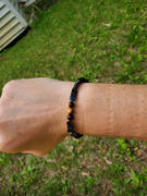 Buddhakind Protection Bracelet in Black Obsidian, Tiger Eye & Hematite Review