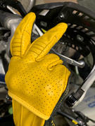Biltwell Inc. Borrego Gloves - Gold/Black Review