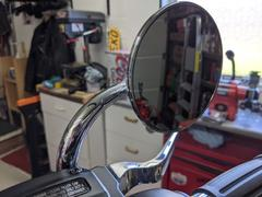 Biltwell Inc. Utility Mirror Round Short Arm CE Perch Mount - Chrome Review