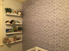 MUSE Wall Studio Slate Chevron Review