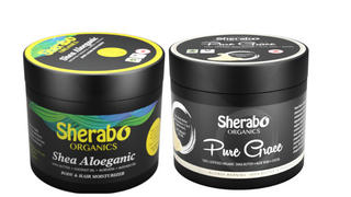 Sherabo Organics TRIPPLE  Jars - Shea Aloeganic X 3 (180ML) Review