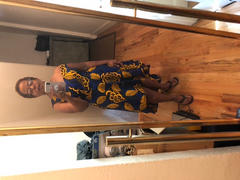 Ray Darten Dupe African Print Dress Review