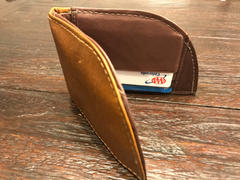 Rogue Industries Nantucket Front Pocket Wallet in Bison Review