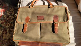 Rogue Industries Waxed Canvas Messenger Bag Review