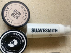 Suavesmith Grooming Combo : Hydrating Foam Cleanser + Texturing Matte Wax + Classic Pomade Review