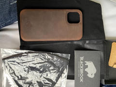 BlackBrook Case Barlow Full Leather Snap On Back Cover Case for Apple iPhone 12 Pro Max (6.7) Review