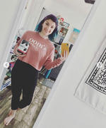 S'moo S'moo Babe Pink Cropped Crew Fleece Review