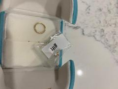 Ouferbodyjewelry 14K Echtgold Muschelohrring 16G Side CZ Nasenring Bewertung