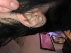 Ouferbodyjewelry 16G Clear Rainbow CZ Titanium Cartilage Earring Revisión