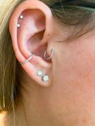 Ouferbodyjewelry Revisión de anillo de nariz de acero inoxidable con circonita cúbica de 18G