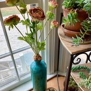 RusticReach Artificial Buttercup Flower Bundle in Orange 21 Tall Review