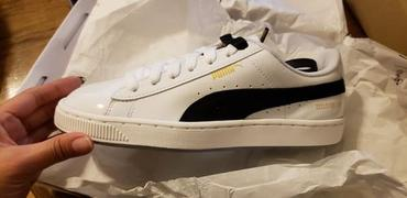 HALLYU MART Puma x Bts  Basket Patent BTS Shoes Review