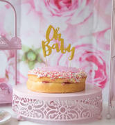 Illume Partyware Oh Baby Gold Glitter Cake Topper - 1 Pce Review