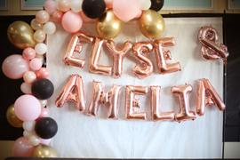 Illume Partyware Balloon Garland Kit DIY - Pink & Gold Review