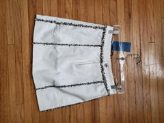 J.ING Bonnie White Denim Skirt Review