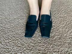J.ING Folia Square Toe Flats Review