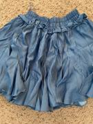 J.ING Jeanie Blue Mini Skater Skort Review