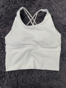 J.ING Canyon White Strappy Ladder Back Bra Top Review
