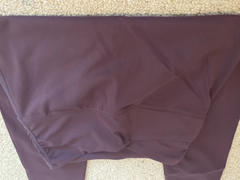 J.ING Purple Eggplant High-Waist Crossover Legging Review