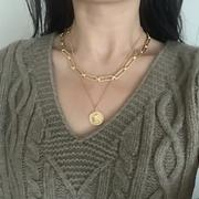J.ING Vintage Medallion Necklace Review