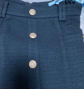 J.ING Sylvia Black Tweed Skirt Review
