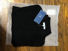 J.ING Basic Black Zip-Up Sweater Review