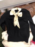 J.ING Clara Black Bow Neck Sweater Review