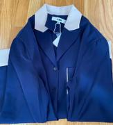 J.ING Maudie Navy Silky Blouse Review