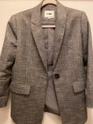 J.ING Gigi Grey Herringbone Blazer Review