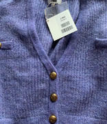 J.ING Elsie Purple Oversized Cardigan Review