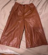 J.ING Jerome Brown Leather Culottes Review