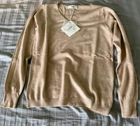 J.ING Cozy Beige V-Neck Sweater Review