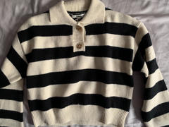 J.ING Hasser Black Striped Sweatshirt Review