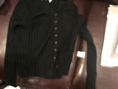 J.ING Cozy Black Ribbed Cardigan Review