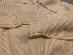 J.ING Henrietta Ivory Collared Sweater Review