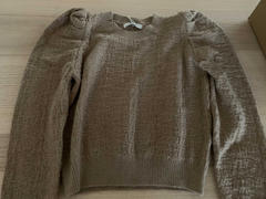 J.ING Maureen Brown Puff Sleeve Sweater Review