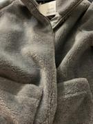 J.ING Plush Grey Teddy Coat Review
