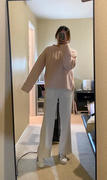 J.ING Cozy Light Pink Ribbed Sweater Review