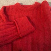 J.ING Marietta Red Ribbed Sweater Review