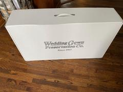 The Wedding Shoppe Wedding Gown Preservation and Cleaning Kit Review