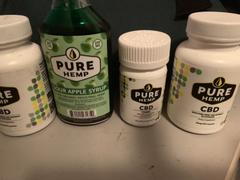 Pure Hemp CBD CBD Syrup - Sour Apple 200mg Review
