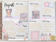 DigitallyWild DIY - All in One - Digital planner - Customizable Keynote planner template Review