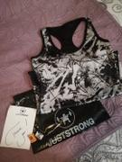 Just Strong ABSTRACT REVERSIBLE RACERBACK EMBLEM VEST Review
