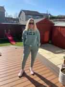 Just Strong Moss Green Marl Relax Cropped Hoodie Review