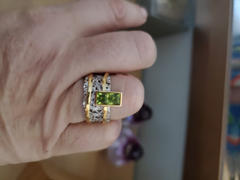 GERMAN KABIRSKI Verina Peridot Ring Review