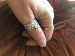 GERMAN KABIRSKI Ouida Peridot Ring Review