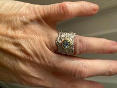 GERMAN KABIRSKI Althea Blue Topaz Ring Review