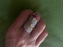 GERMAN KABIRSKI Adelinde Amethyst Ring Review