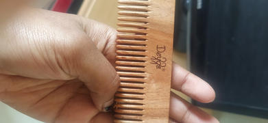 deyga.in Wooden Comb - Small Review